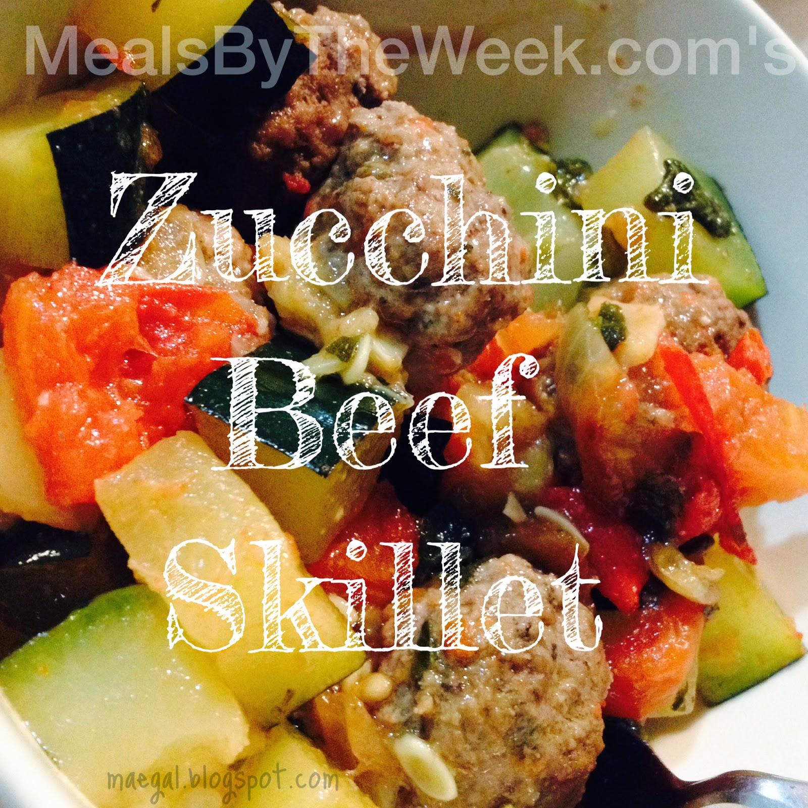 MBTW Zucchini Beef Skillet