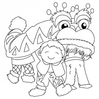 Chinese New Year Celebrations Coloring Pages For Kids Best Coloring