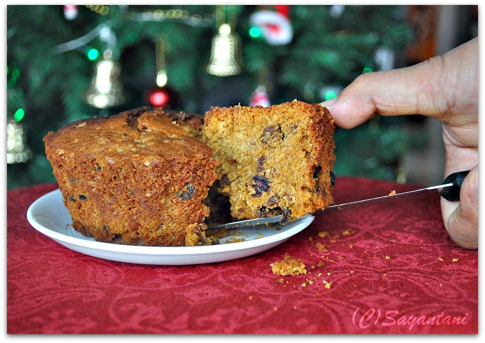 Crumbly Christmas Cake