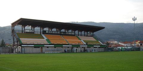 stadio dei marsi - tribuna