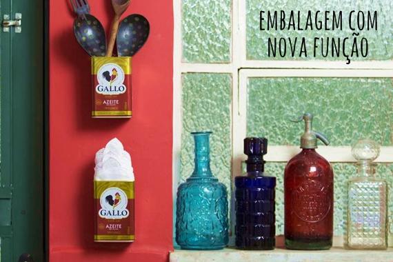 decoracao cozinha diy:Garrafas e latas: da cozinha para a decoração – dcoracao.com – blog
