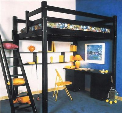 photos lit mezzanine 2 places lit mezzanine 2 places. Black Bedroom Furniture Sets. Home Design Ideas