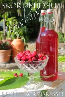 Körsbär - Recept körbärssaft