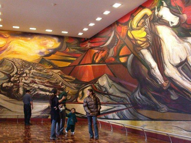 Arte y arquitectura el movimiento muralista mexicano for Arte mural mexicano