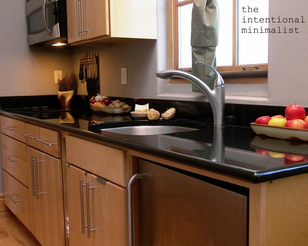 The Intentional Minimalist The Minimalist Kitchen