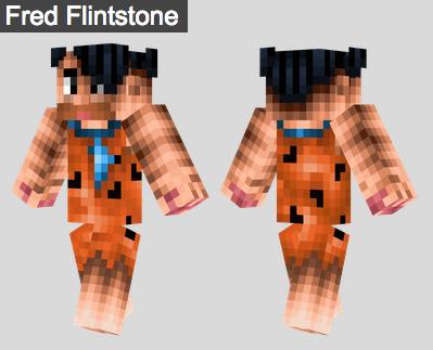 27. Fred Flintstone Skin