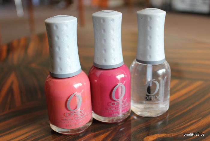 beauty blog nail polish haul: discounted orly polishes