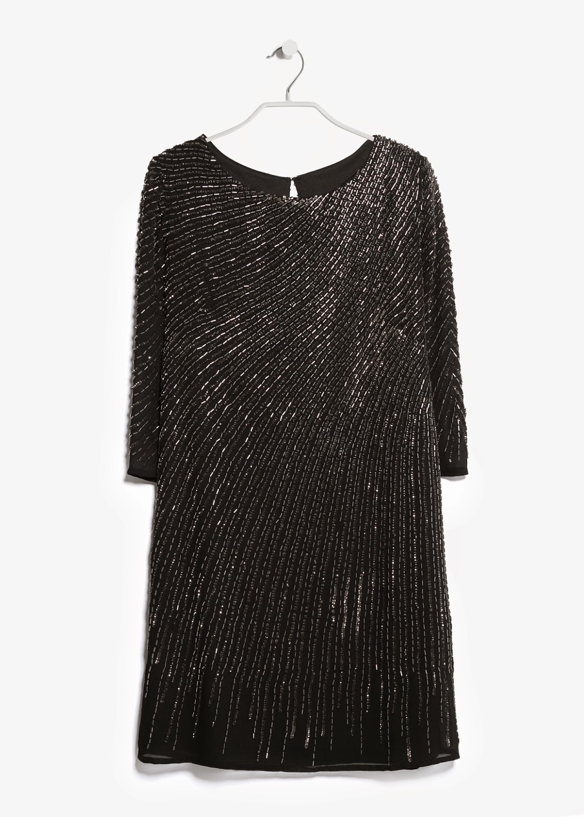 mango sequin dress