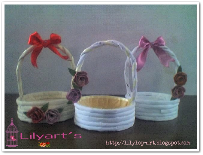 Lilyart's: Canastas decoradas