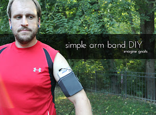tutorial: workout arm band || imagine gnats