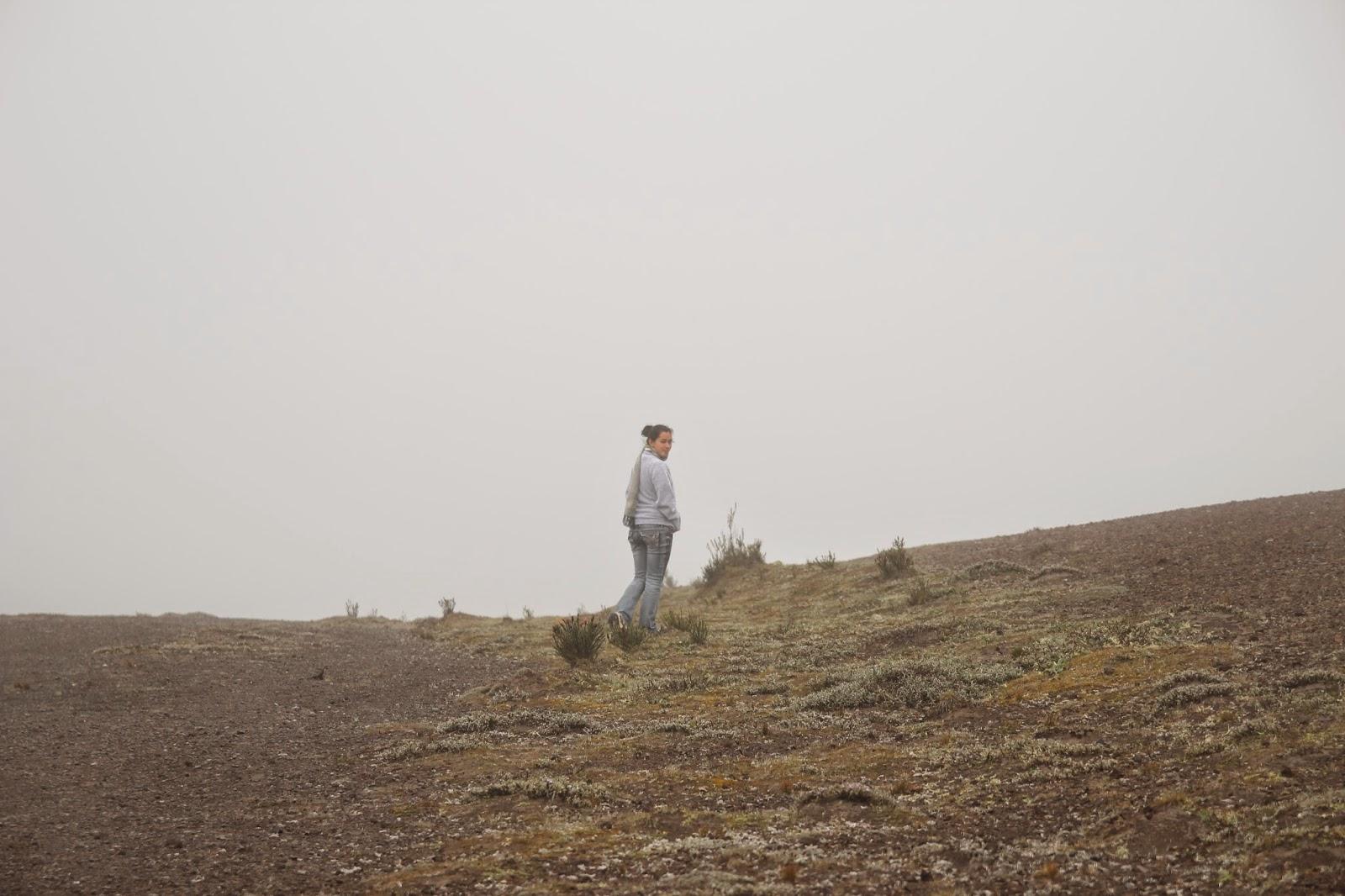chimborazo riobamba ecuador nublado