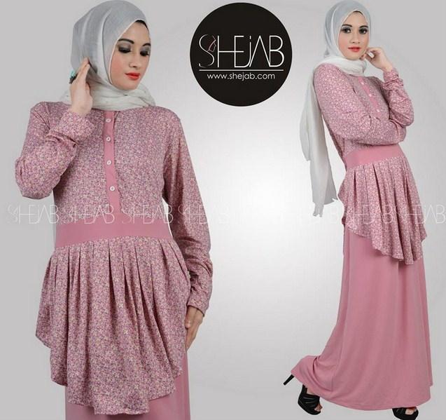 Sample Baju Muslim Terbaru Bahan Spandek Danitailor