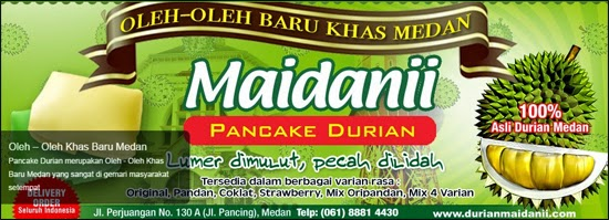Maidaniipancakeduriancom Distributor Resmi Pancake Durian Oleh Oleh Khas Medan