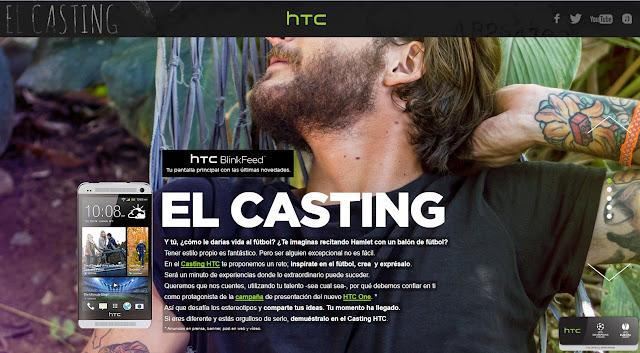 HTC One El casting