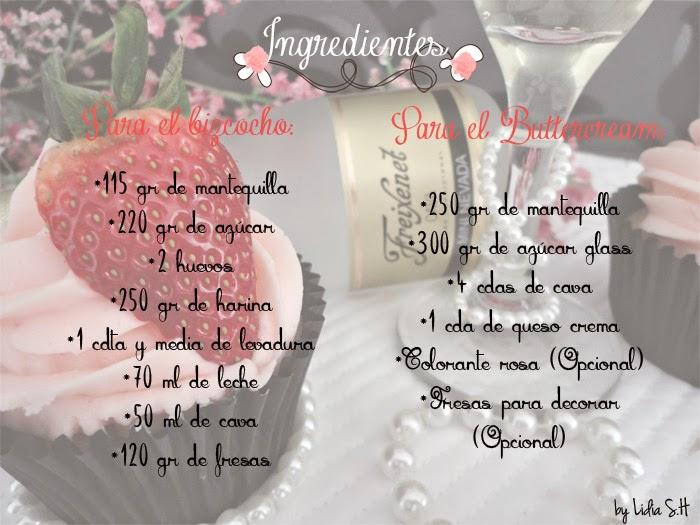 cupcakes-cava-fresas-receta