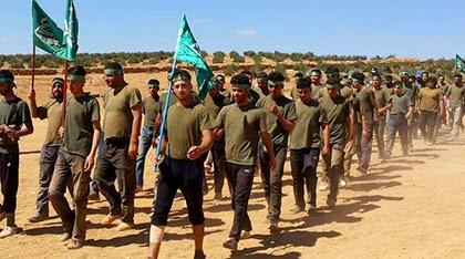 2000 terroristas entrenados por CIA e Israel se unen al EIIL