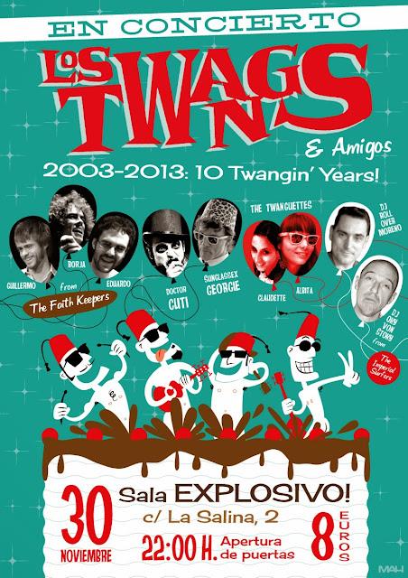 cartel 10º aniversario twangs