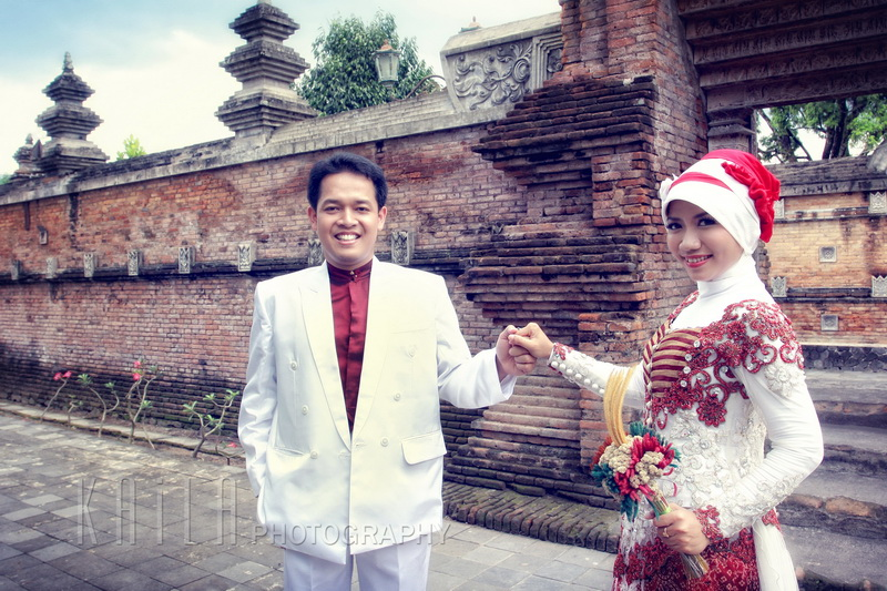 Prewedding Rieke & Vicky , Kota Gede, Jogjakarta
