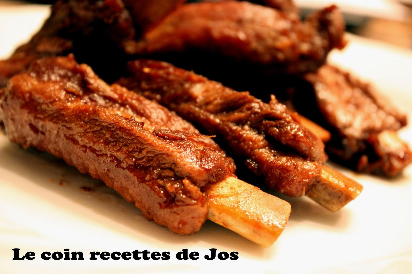 Travers de porc cantonais caram lis s recette - Cuisiner travers de porc ...