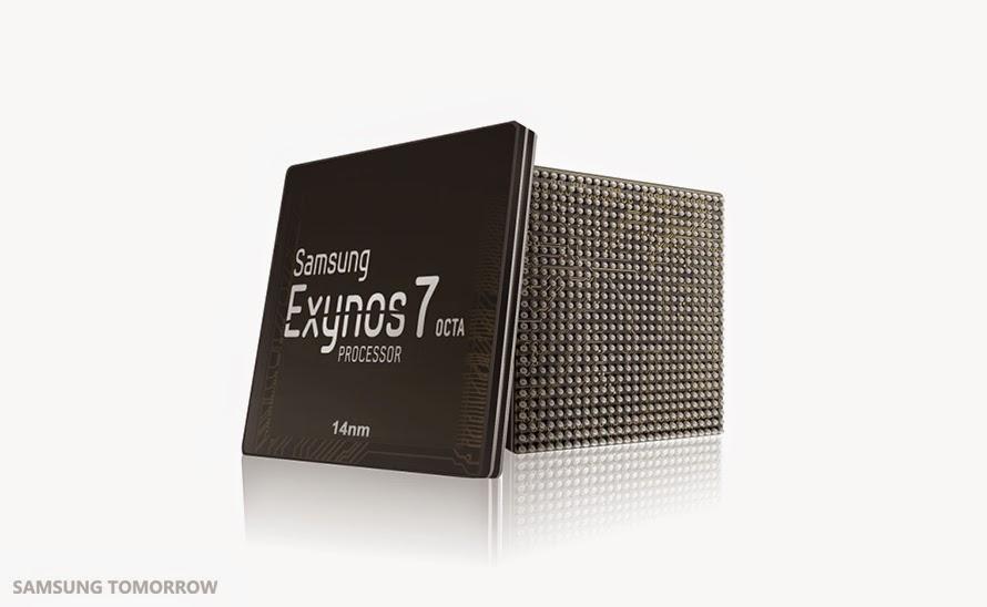 مواصفات و ميزات معالج سامسونج Exynos 7420 ثماني النوى أول معالج في العالم بتقنية 14 نانو متر.