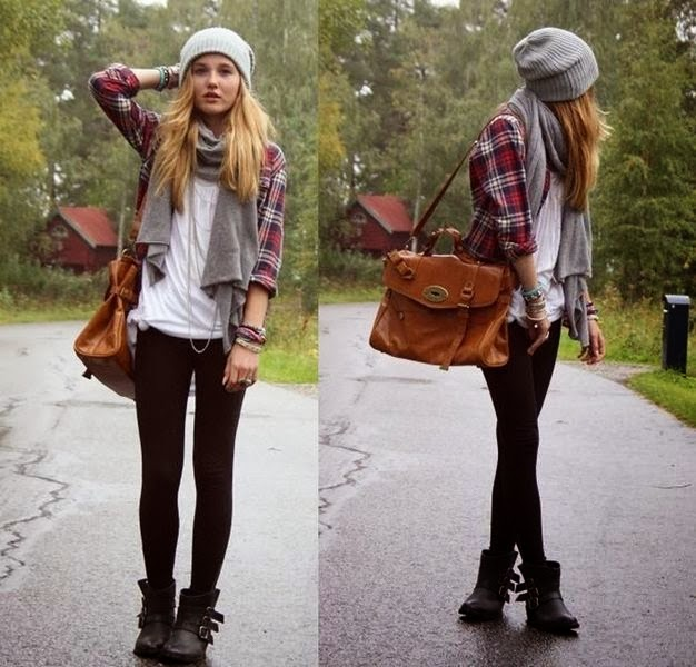 Amazing Colorful Shirt and Hat with Suitable Scarf,Black Legging and Alexa Bag Lookalike with Black Leather Boots, Basic White Tee