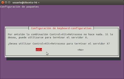 Control+Alt+Retroceso