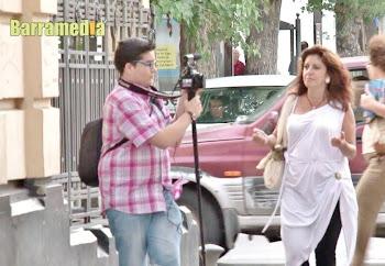 Isabel Camiña entrevistada en Barramedia TV
