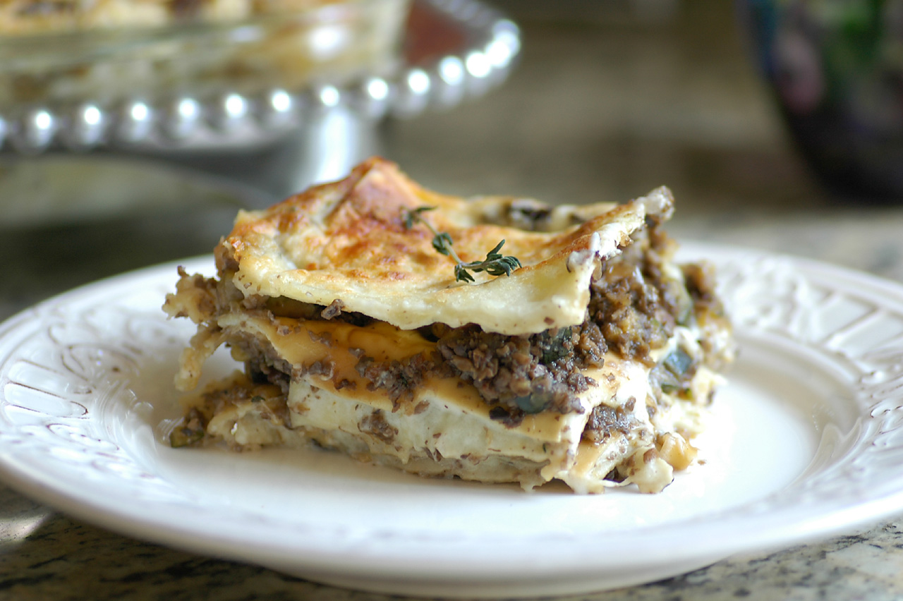 Savoring Time in the Kitchen: Marvelous Mushroom Lasagna