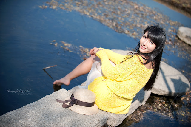1 Cha Sun Hwa - Summer Outdoor-very cute asian girl-girlcute4u.blogspot.com