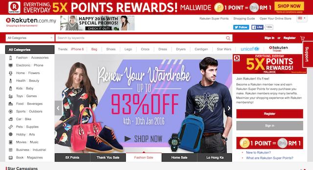 RAKUTEN Online Shopping Malaysia : #RakutenShoppingHacks