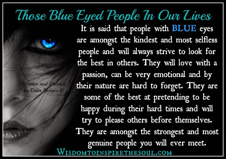 Blue Eyed People 113