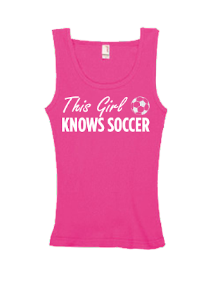 This Girl Knows Soccer Tank