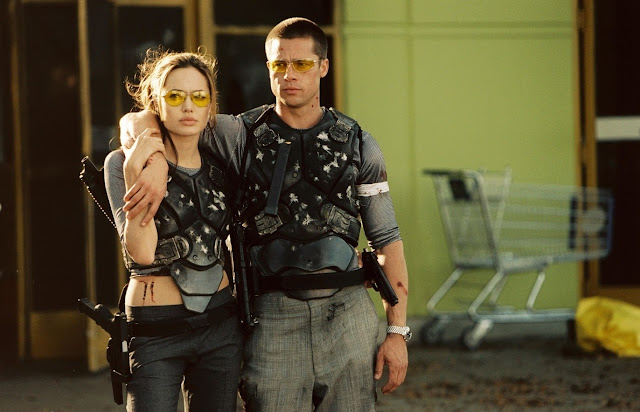 Mr. and Mrs. Smith,angelina jolie,brad pitt