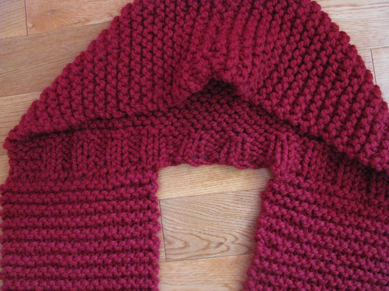 Hooded Infinity Scarf Knitting Pattern : Chris Knits in Niagara: Infinity Hooded Cowl