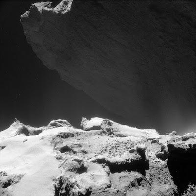 Фотография кометы 67P/Чурюмова-Герасименко от 23 октября 2014г