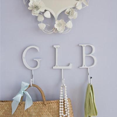 alphabet hook, letters G L B