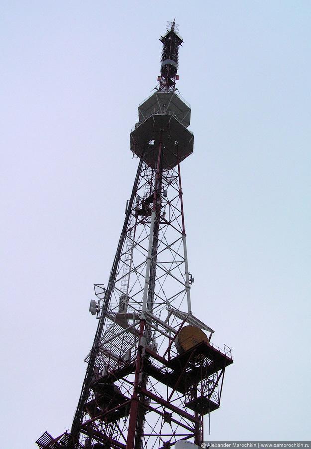 Телерадиовещательная вышка на горе Машук в Пятигорске