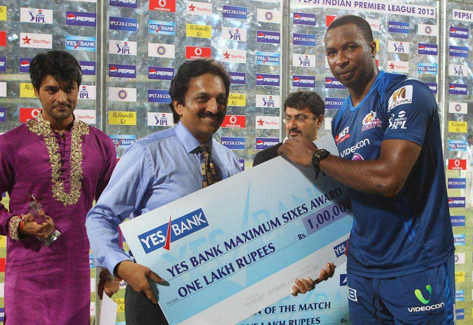 Kieron-Pollard-Maximum-Sixes-CSK-vs-MI-IPL-2013