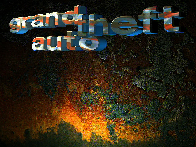 Grand Theft Auto title screen PC