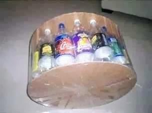 Cara membuat kursi dari botol plastik bekas ( produk kerajinan tangan