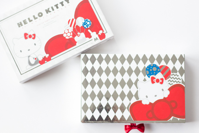 hello kitty pop up party eyeshadow palette