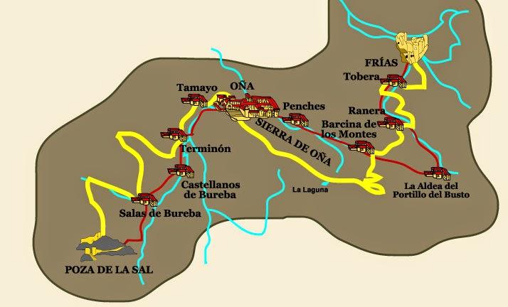 Situación de La Tobera