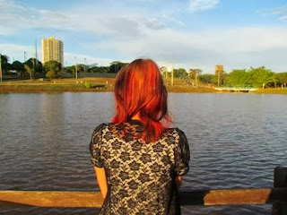 Lorena no Parque nas Nações Indígenas