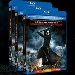 Blu-ray Abraham Lincoln Cazador de Vampiros