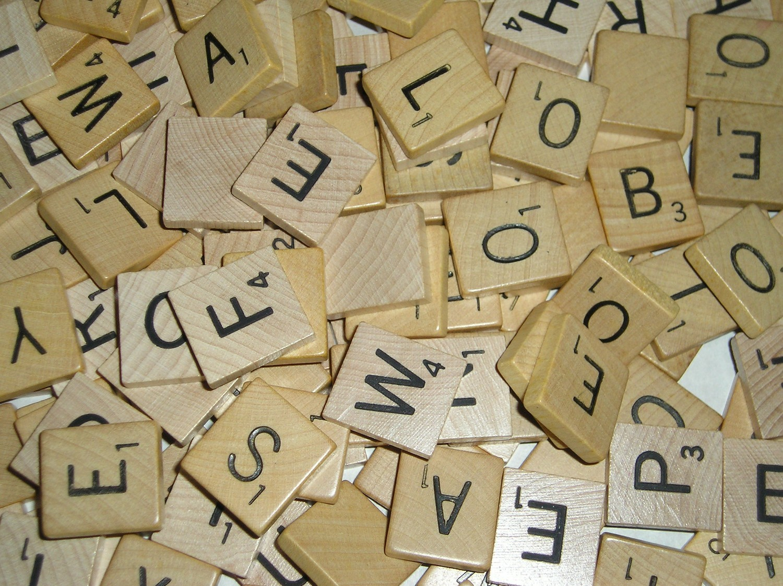 Cards by cg framed scrabble board for Bulk letters