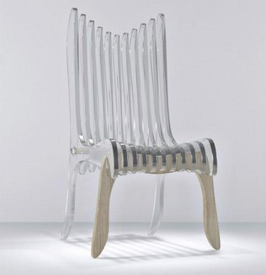 необычный красивый стул