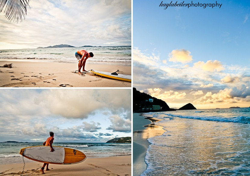 surfing in the bvi photo
