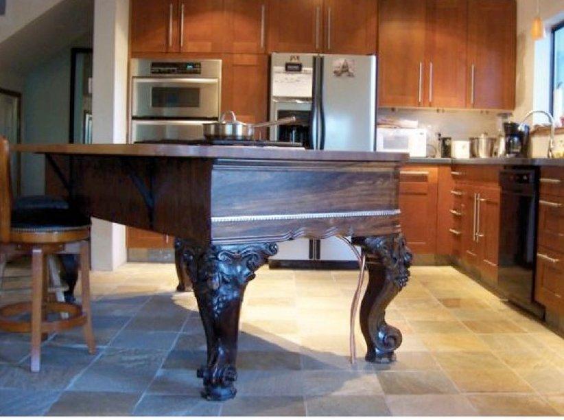 Dishfunctional Designs The Salvaged Repurposed Piano