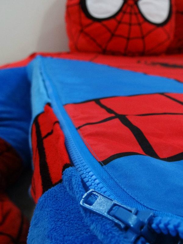 Vintage Spider Man Bed Cover