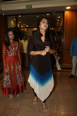 Anushka Shetty at Rudramadevi Success Meet